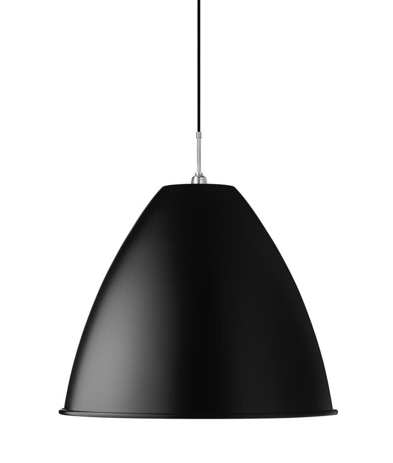 BL9 XL Taklampa black/chrome
