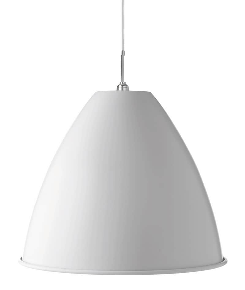 BL9 XL Taklampa matt white/chrome