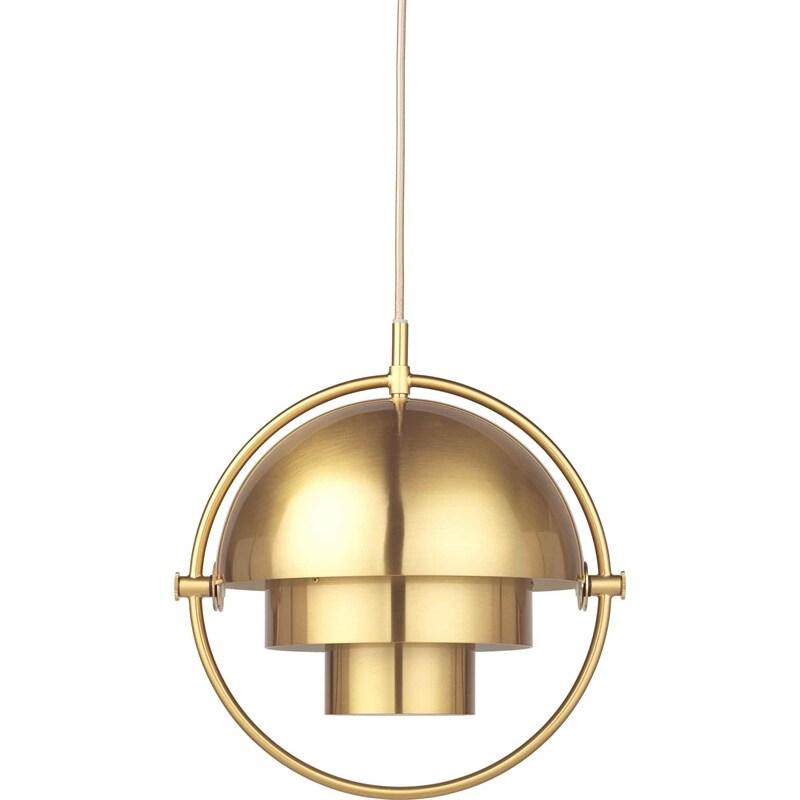 Multi Lite small taklampa all brass GUBI Norrmalms Elektriska