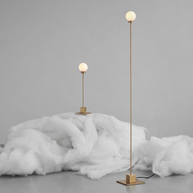 Snowball Bordslampa mässing Northern Norrmalms Elektriska