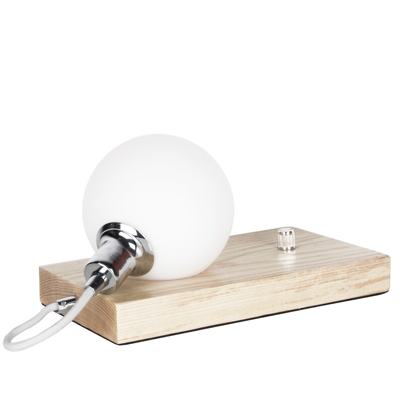 Orb bordslampa ask