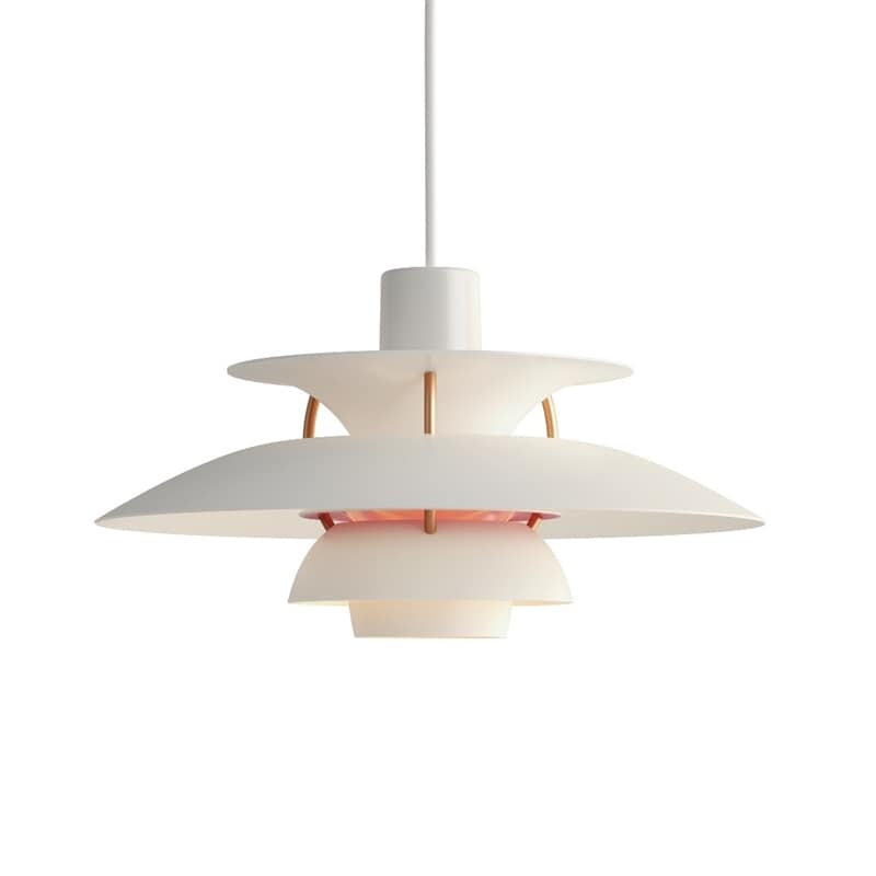 PH 5 Mini Taklampa modern white