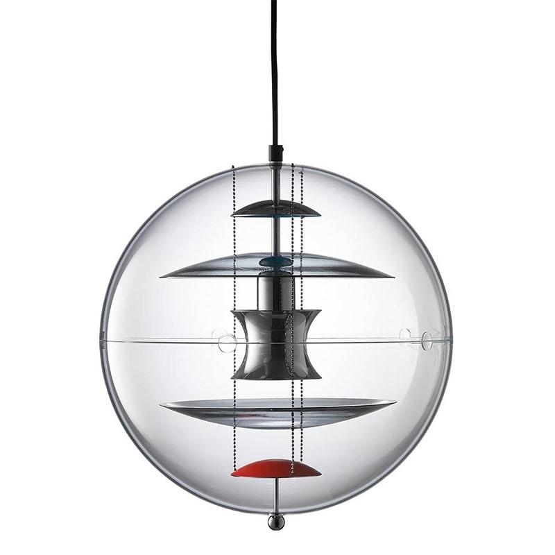 VP Globe 40 Taklampa coloured glass Verpan Norrmalms Elektriska