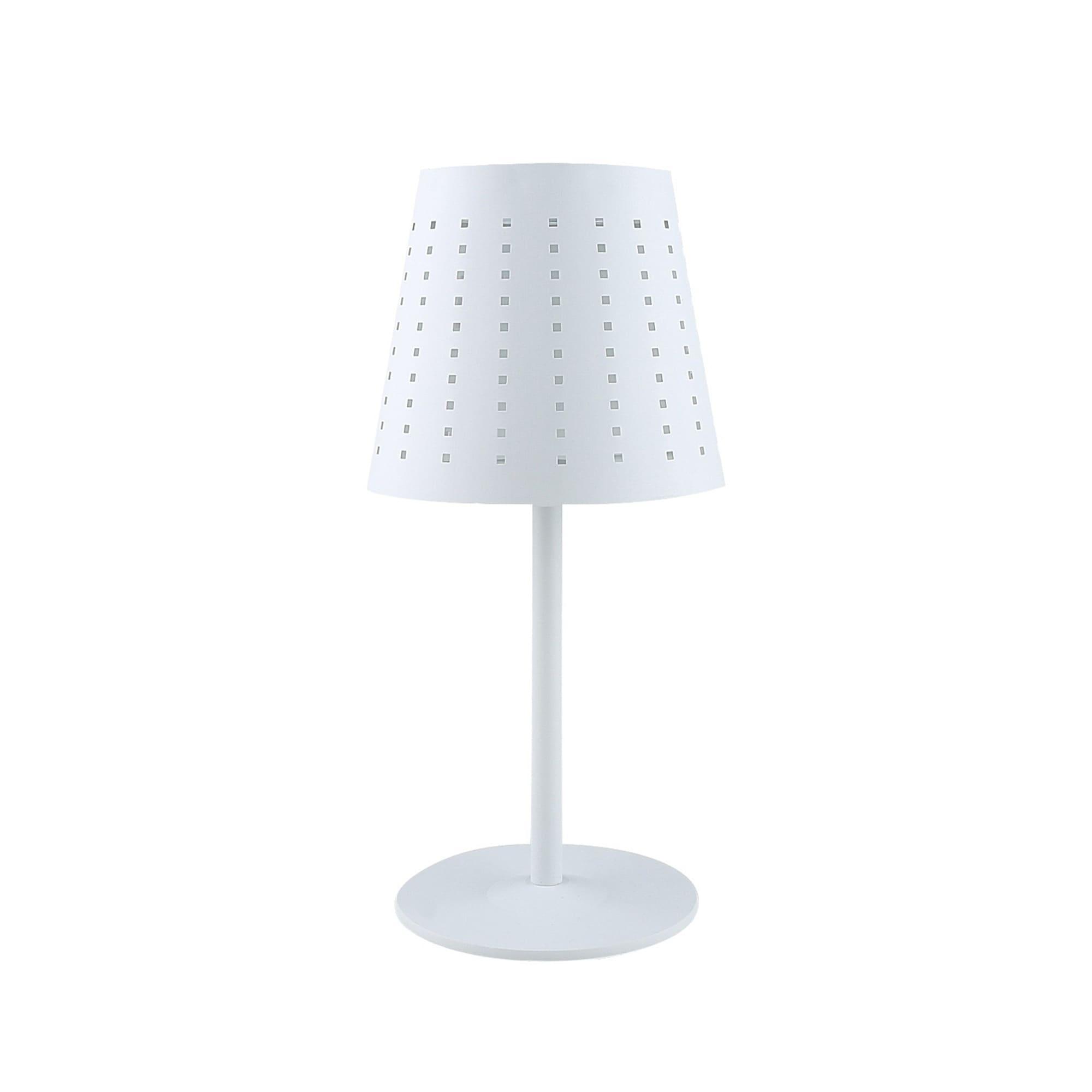 Alvar outdoor bordslampa vit