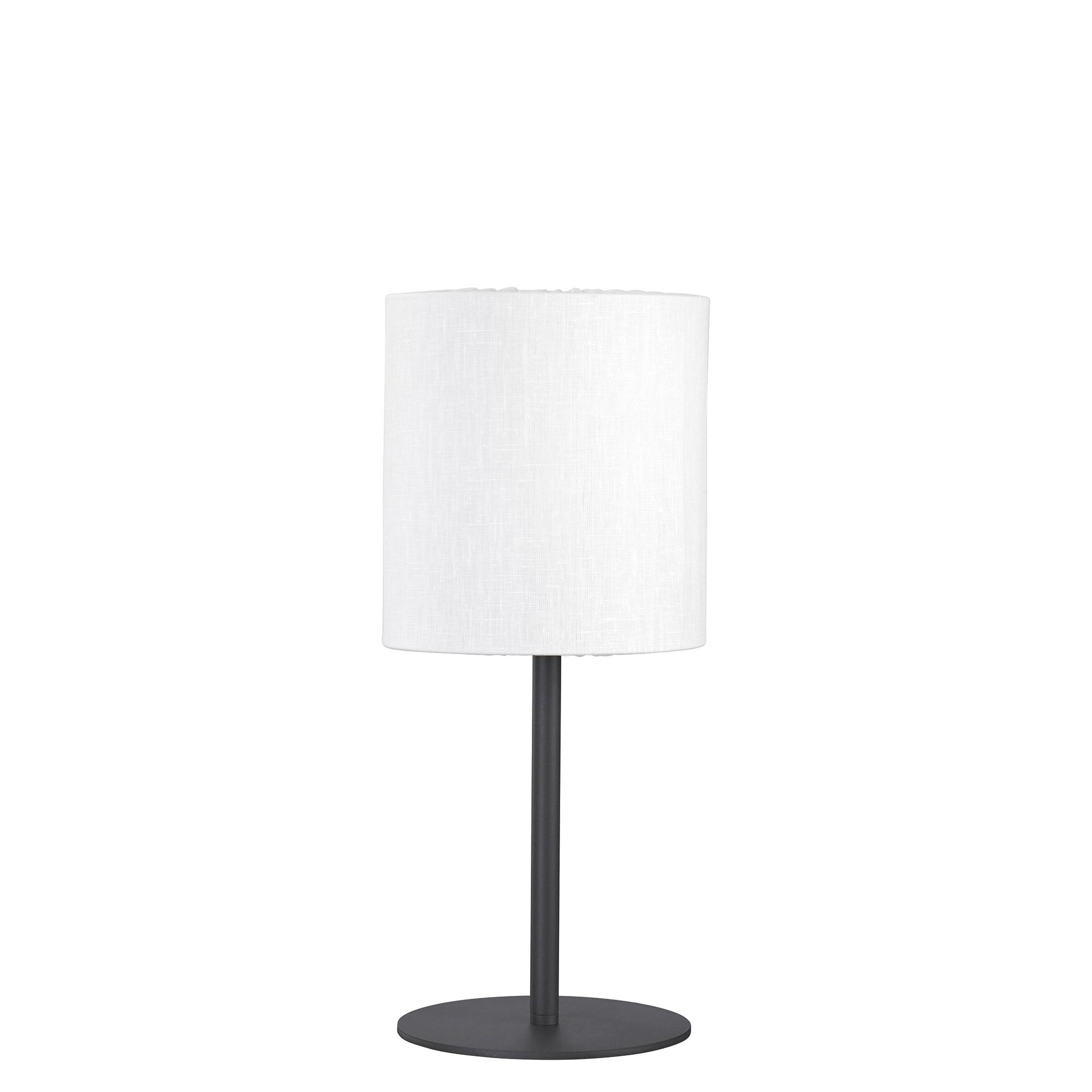 Agnar outdoor bordslampa lin vit