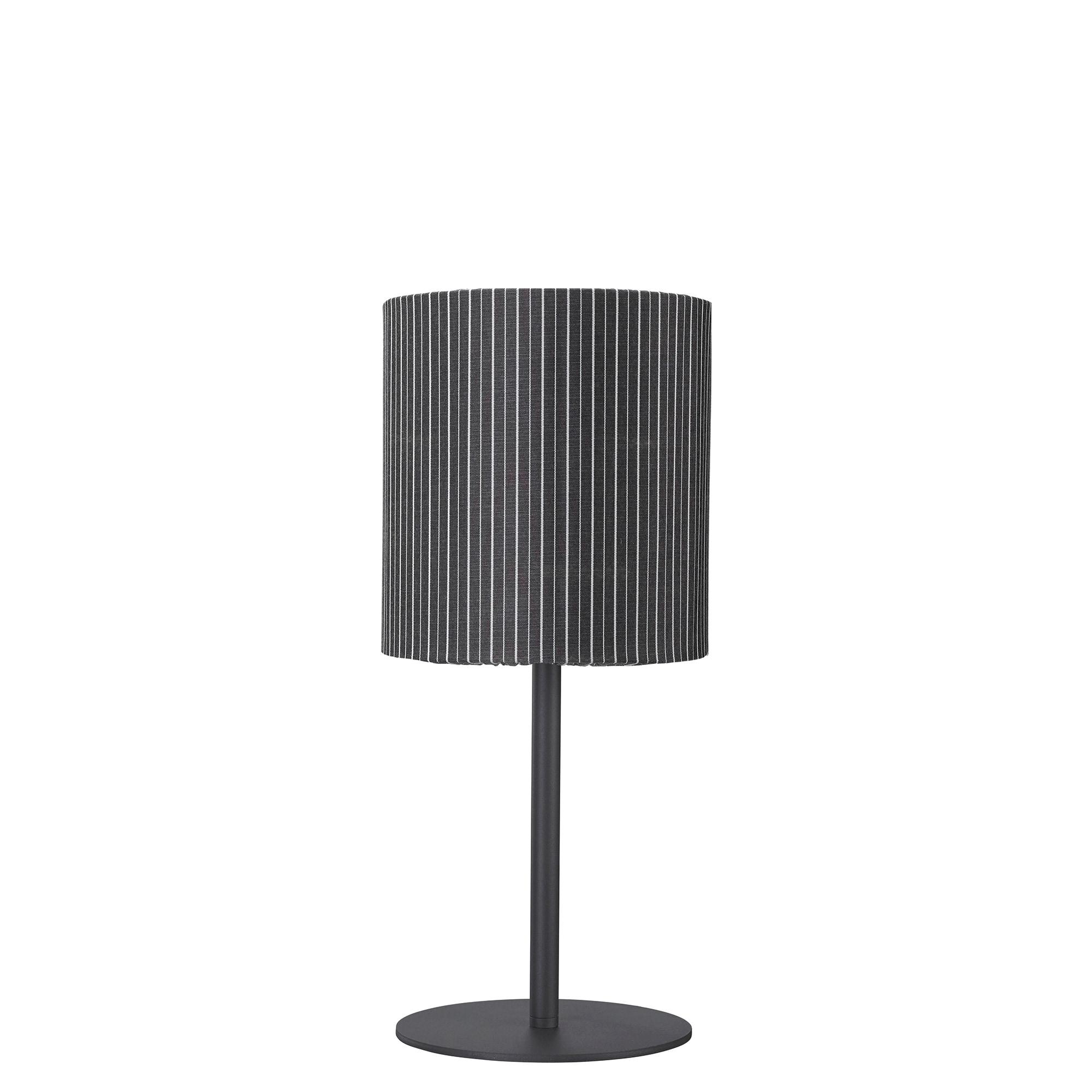 Agnar outdoor bordslampa grå rand