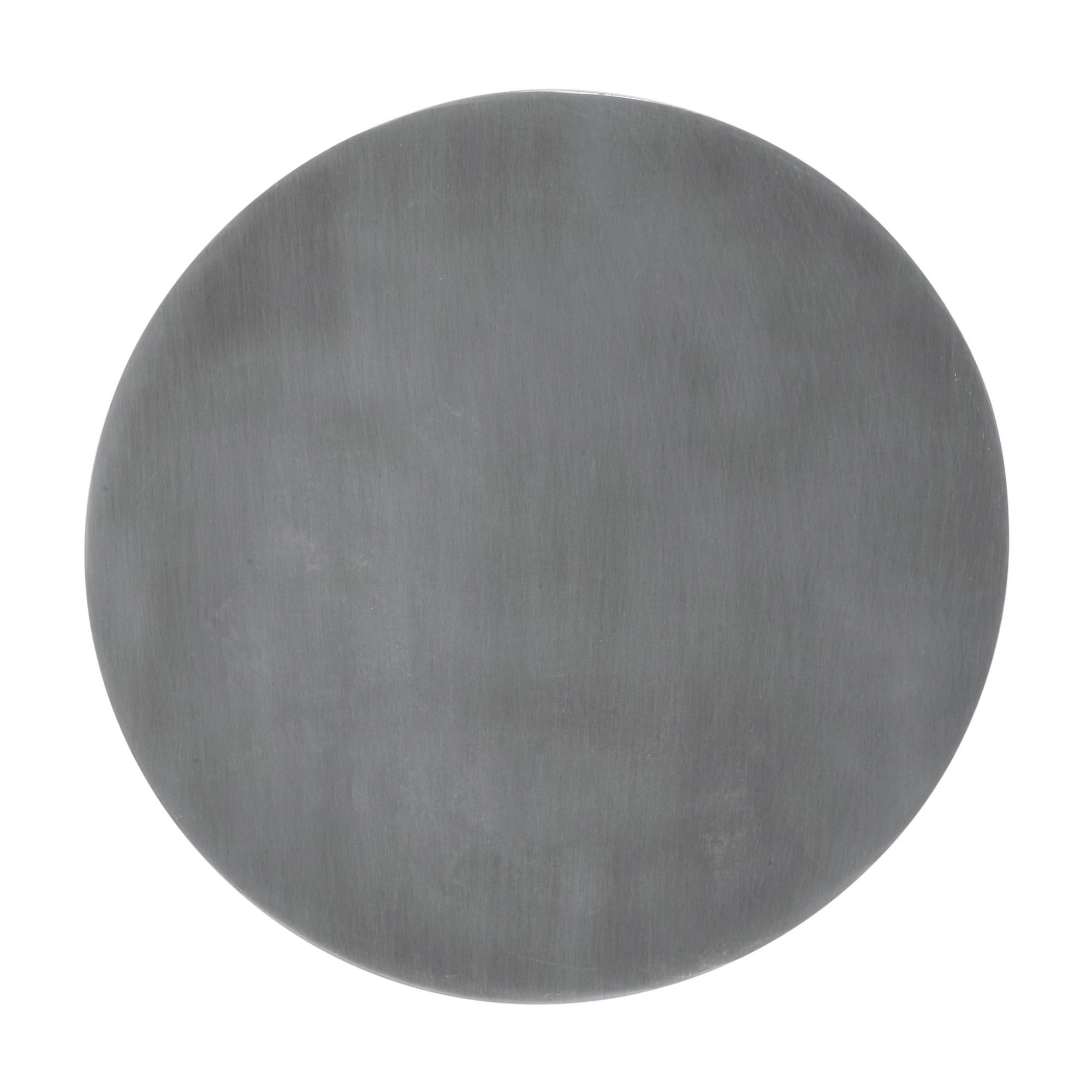 Fullmoon Ø25 vägglampa pale silver