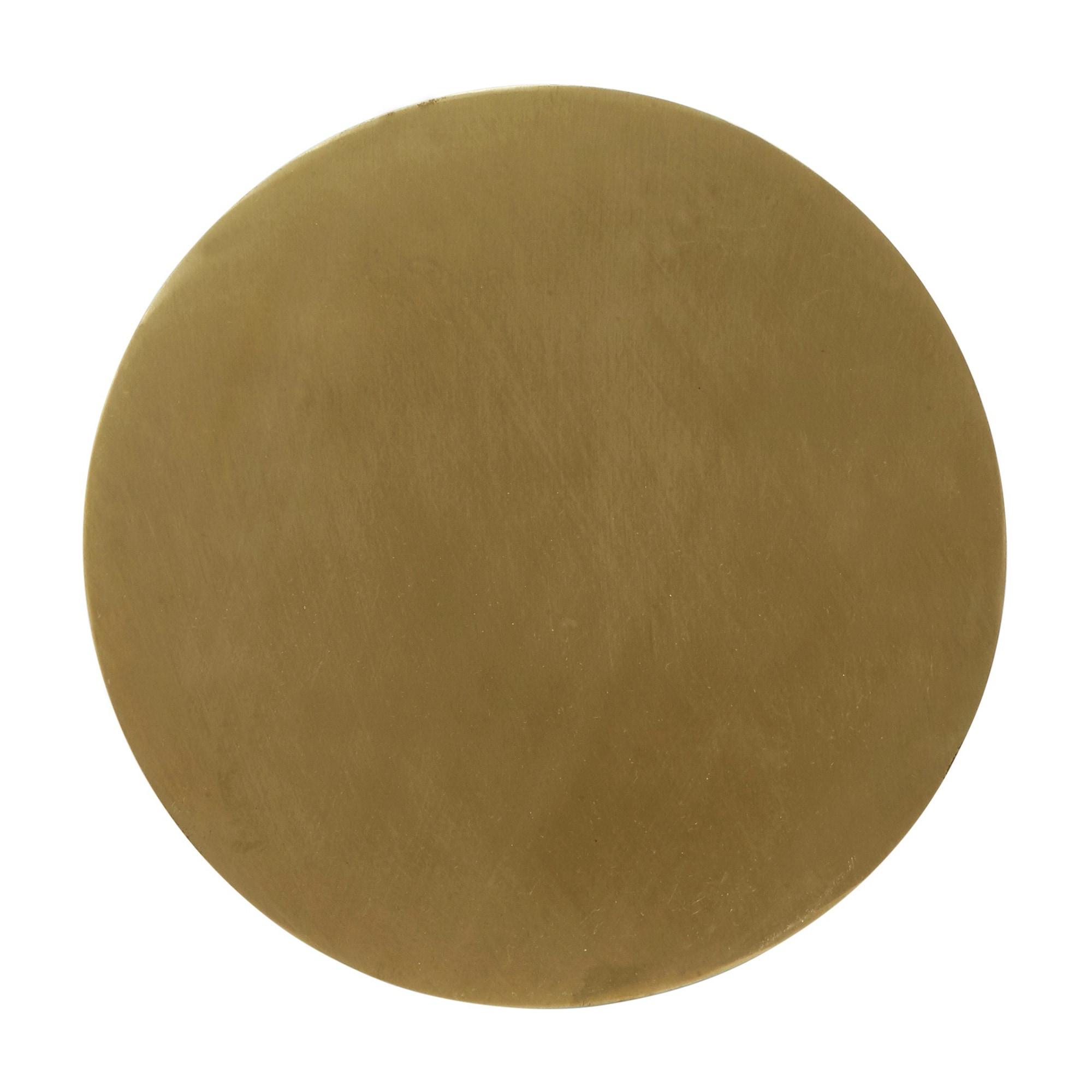 Fullmoon Ø25 vägglampa pale gold