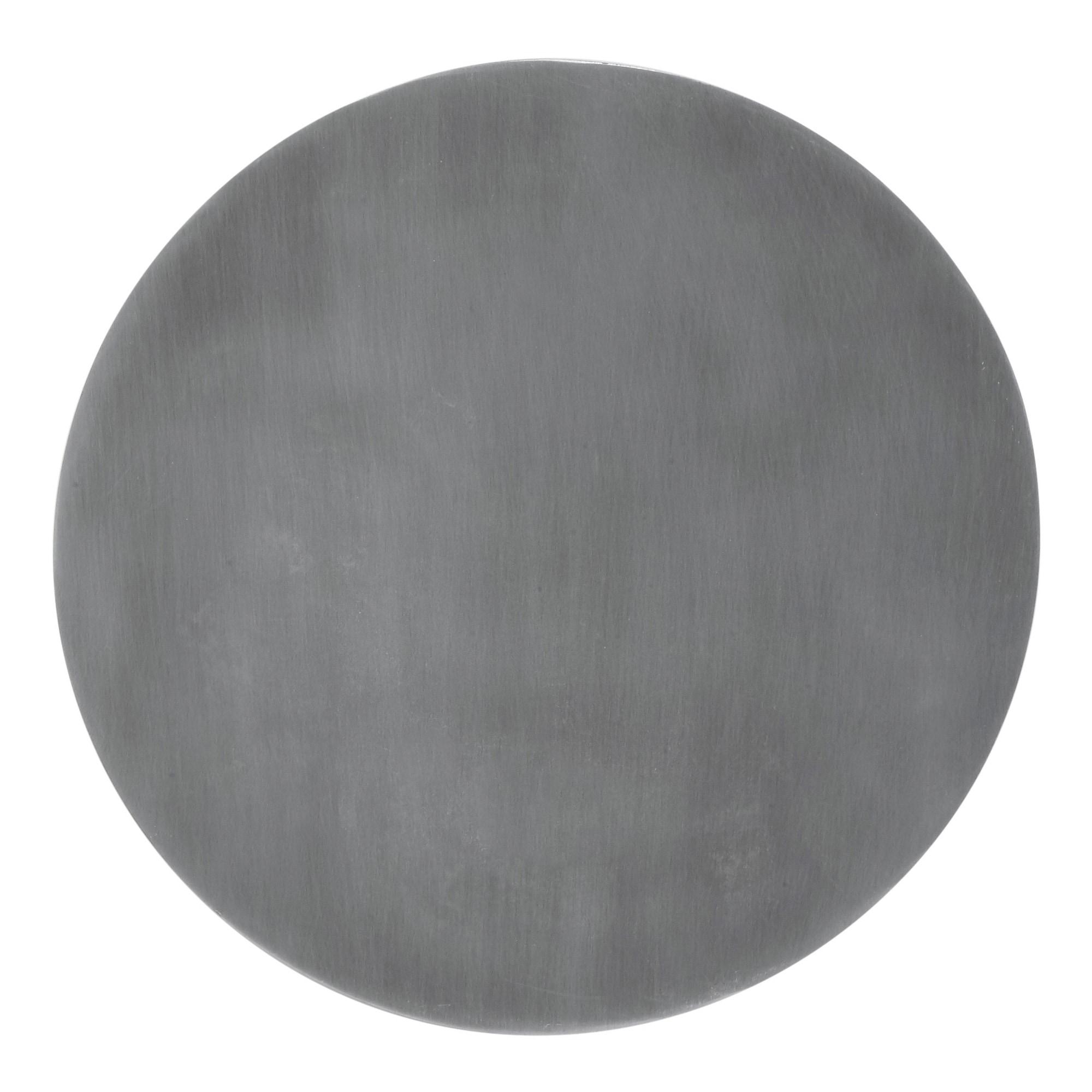 Fullmoon Ø35 vägglampa pale silver