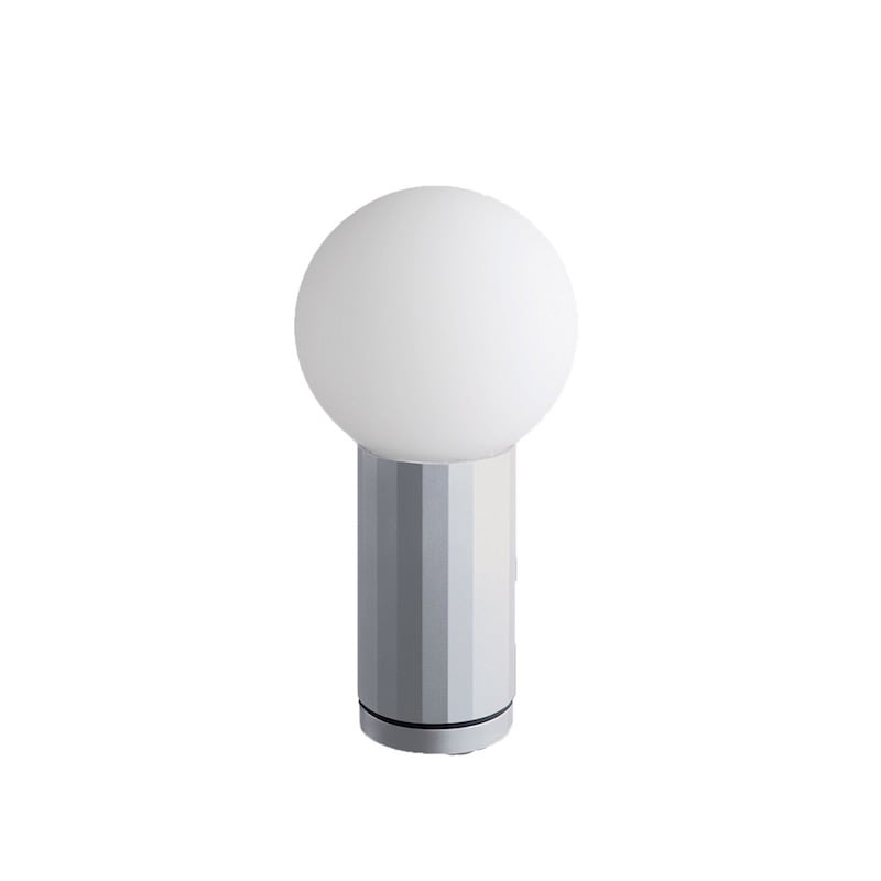 Turn On Bordslampa aluminium