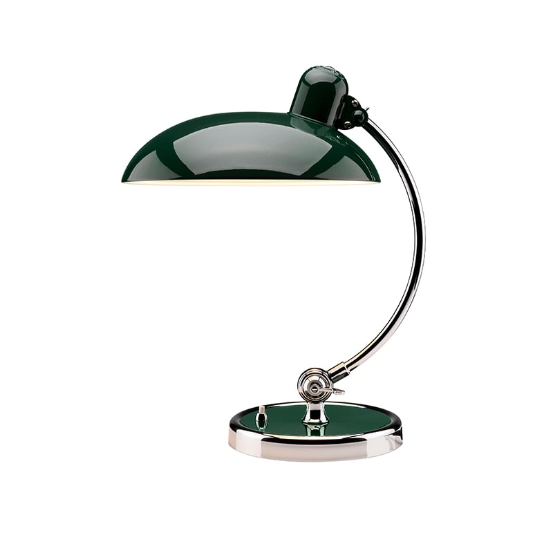 Kaiser idell 6631-T Luxus Bordslampa Dark green