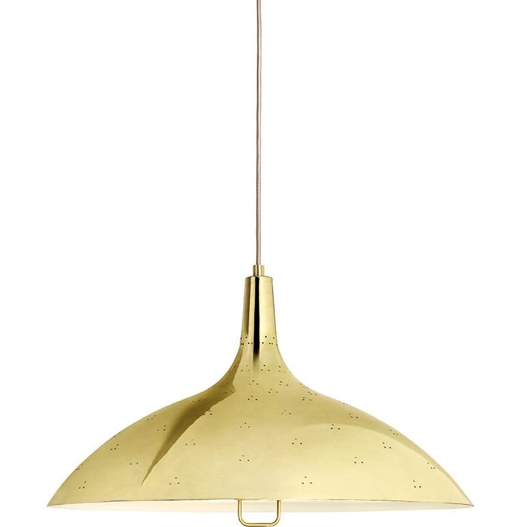 1965 taklampa brass