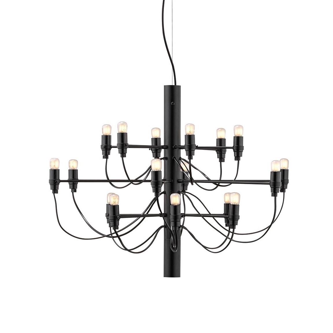 2097/18 Sarfatti LED Taklampa svart