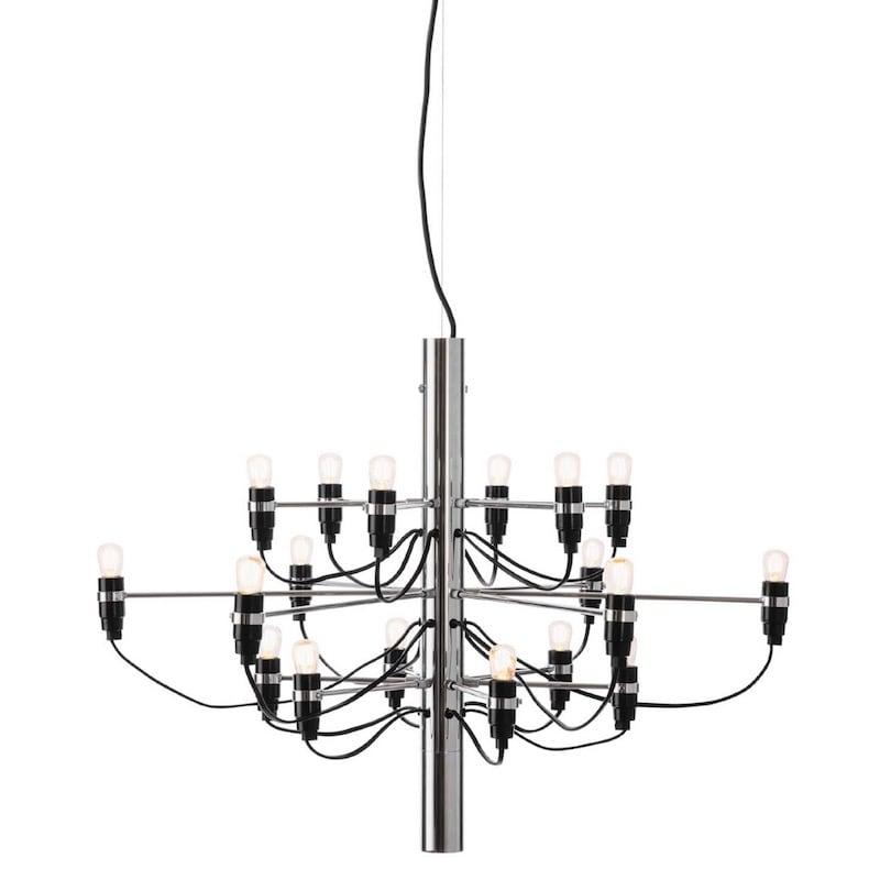 2097/18 Sarfatti LED Taklampa krom