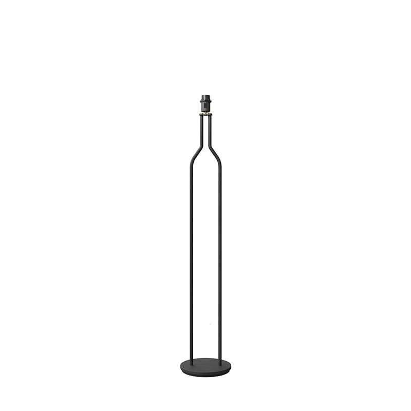 Bottle golvlampa svartstruktur