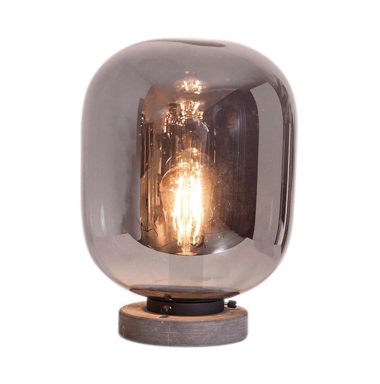 Leola bordslampa rökgrå