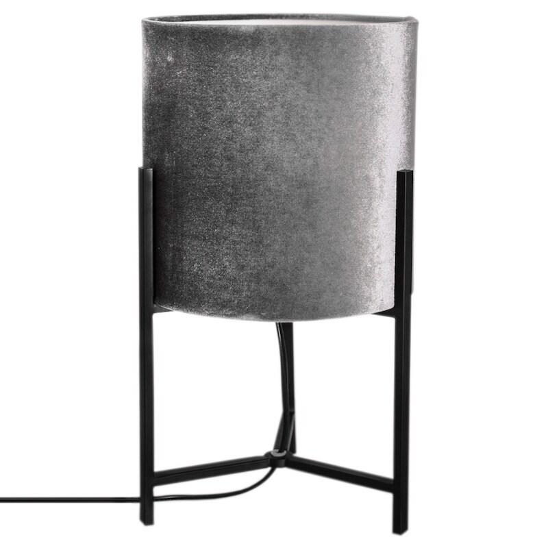 Honey bordslampa grå