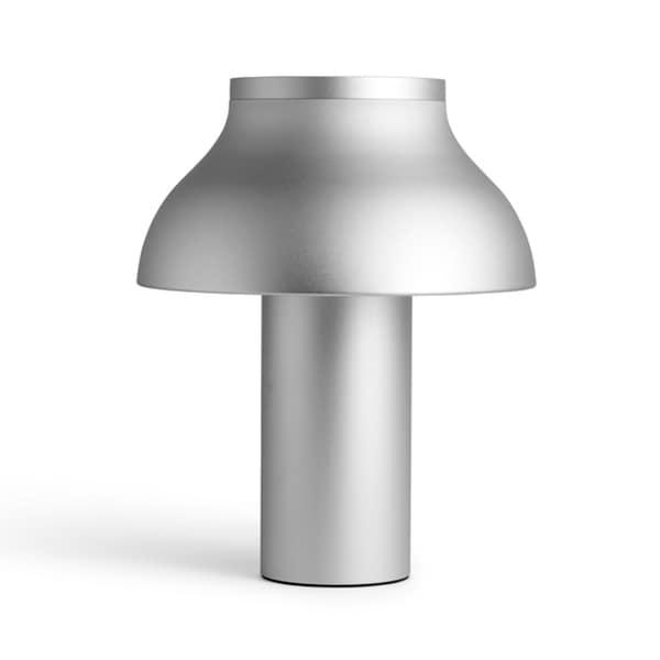 PC L bordslampa aluminium