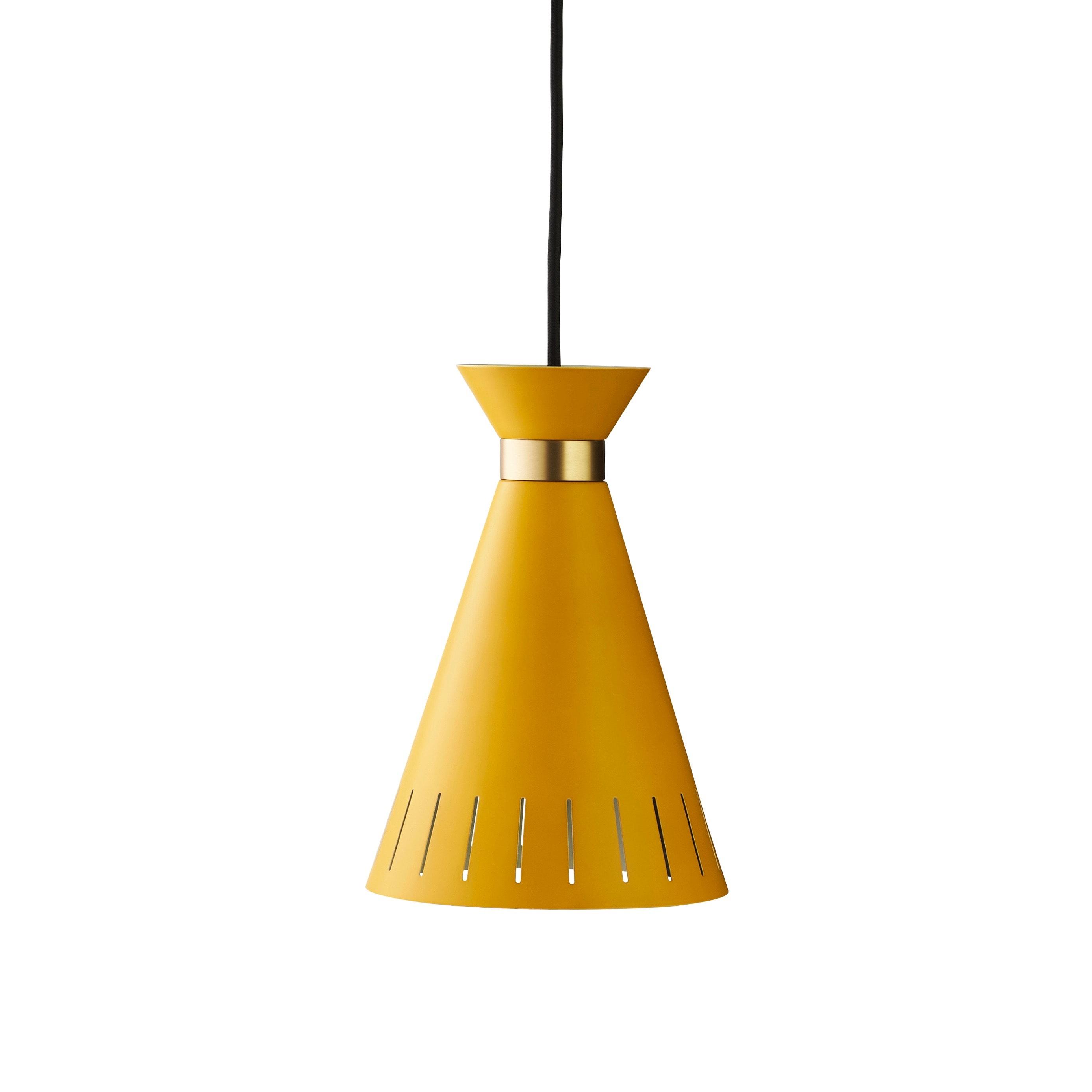 Cone taklampa honey yellow