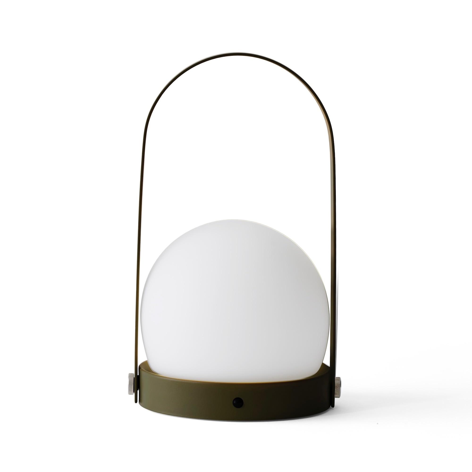 Carrie LED Bordslampa oliv
