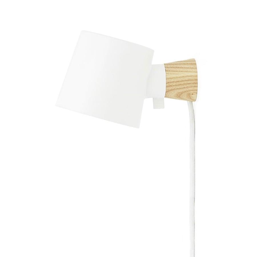 Rise Vägglampa white