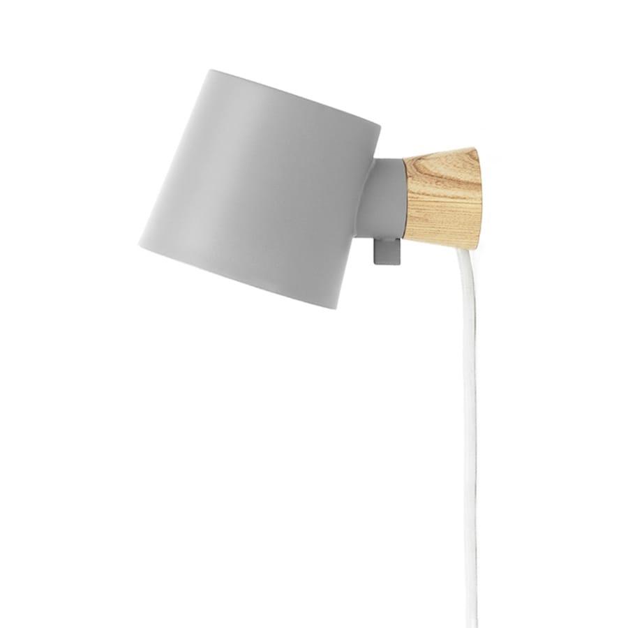 Rise Vägglampa grey