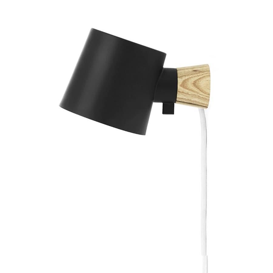 Rise Vägglampa black