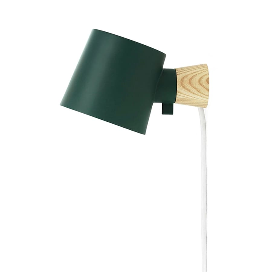 Rise Vägglampa petrol green