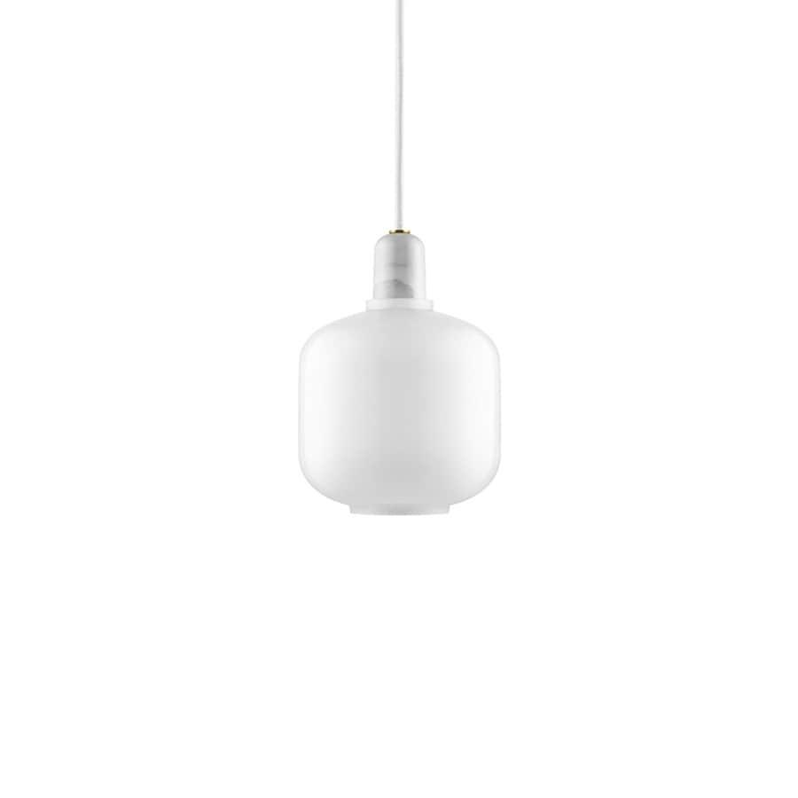 Amp Taklampa S white/white
