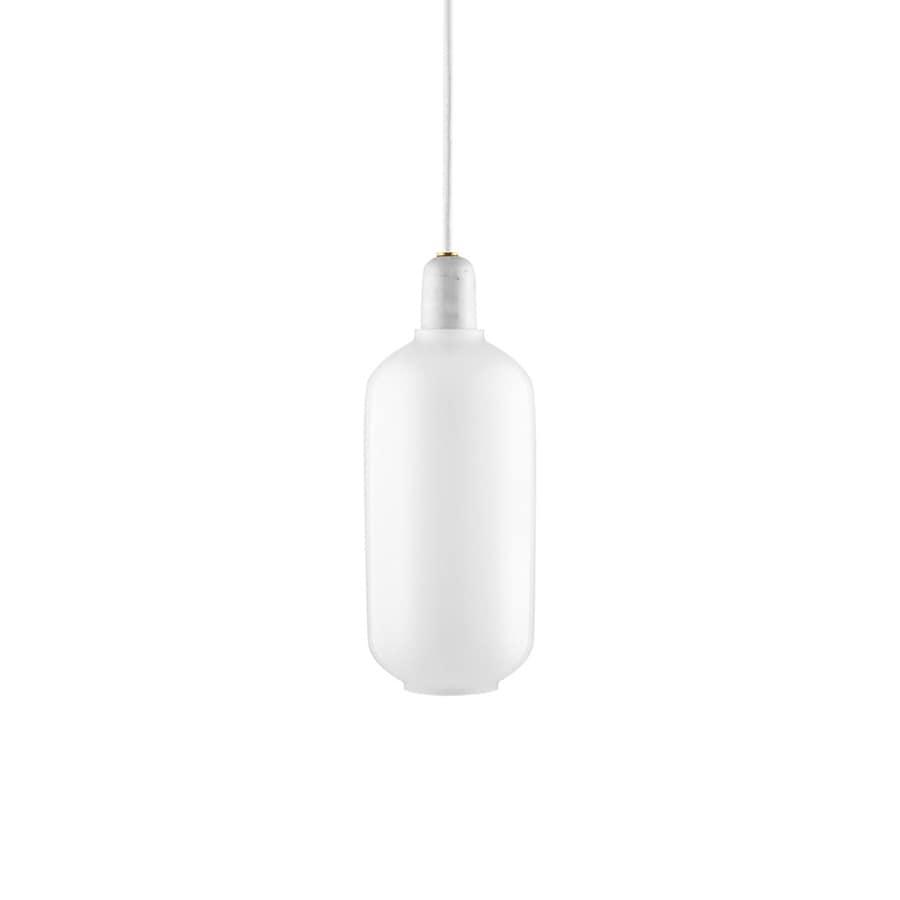 Amp Taklampa L white/white