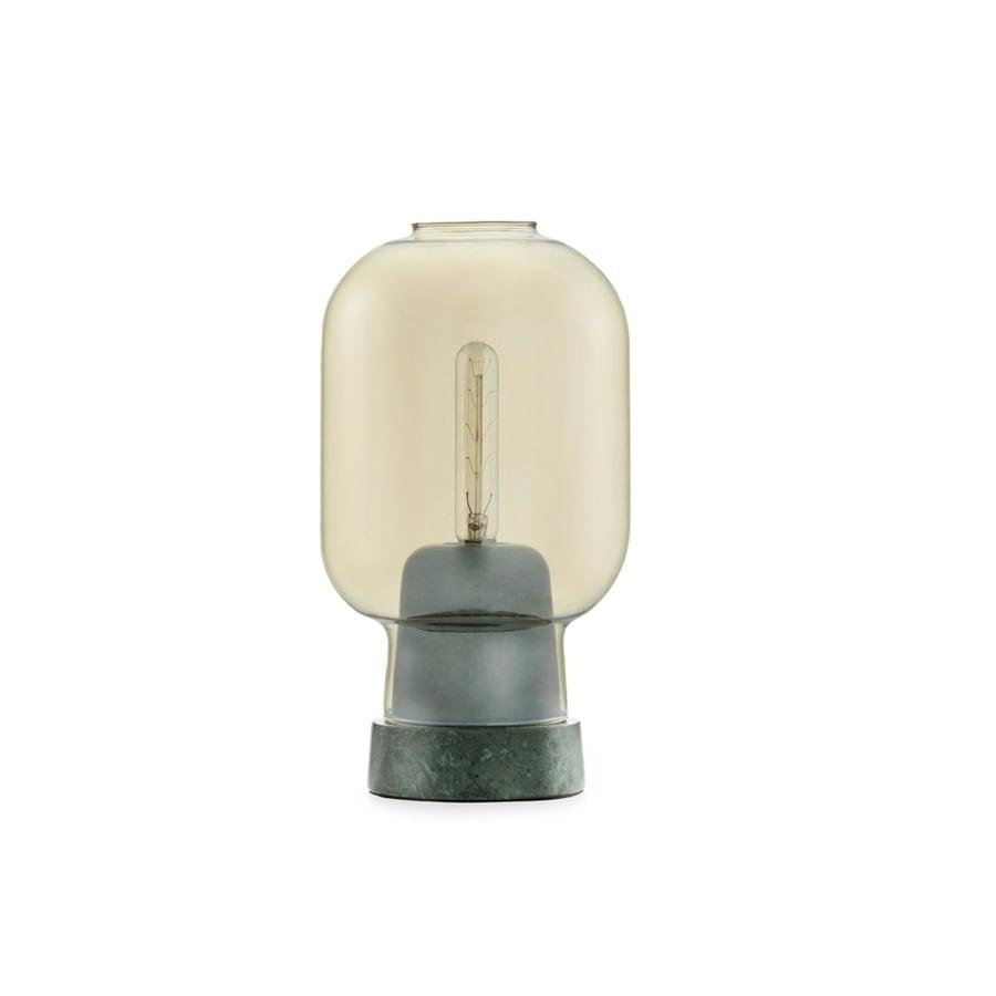 Amp Bordslampa gold/green