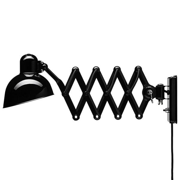 Kaiser idell 6718-W Vägglampa svart