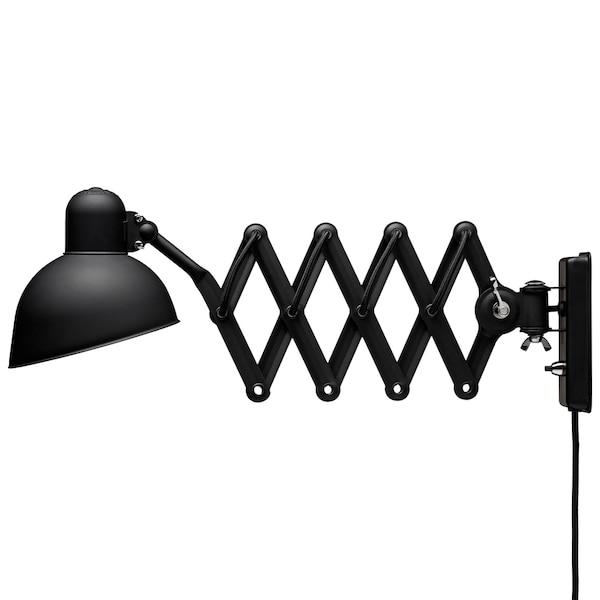 Kaiser idell 6718-W Vägglampa matt svart