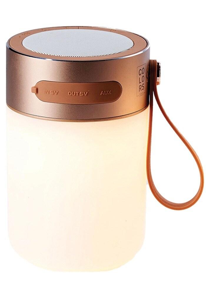 Sound Jar bordslampa gold