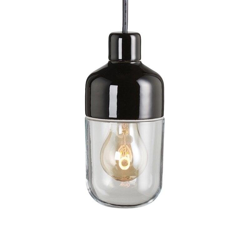 Ohm outdoor 100/215 taklampa klarglas/svart