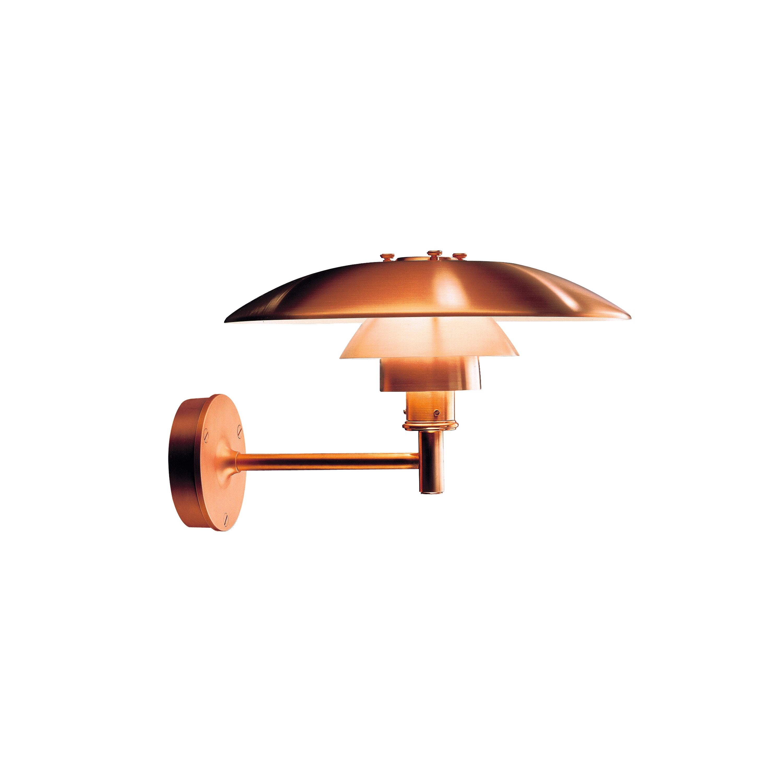 PH Vägglampa Utebelysning koppar