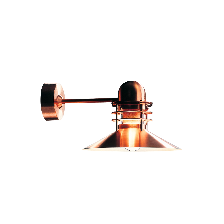 Nyhavn Vägglampa Utebelysning koppar