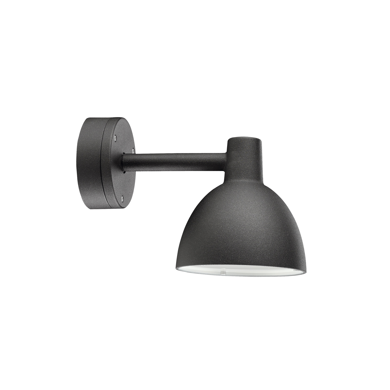 Toldbod 155 Vägglampa utebelysning svart