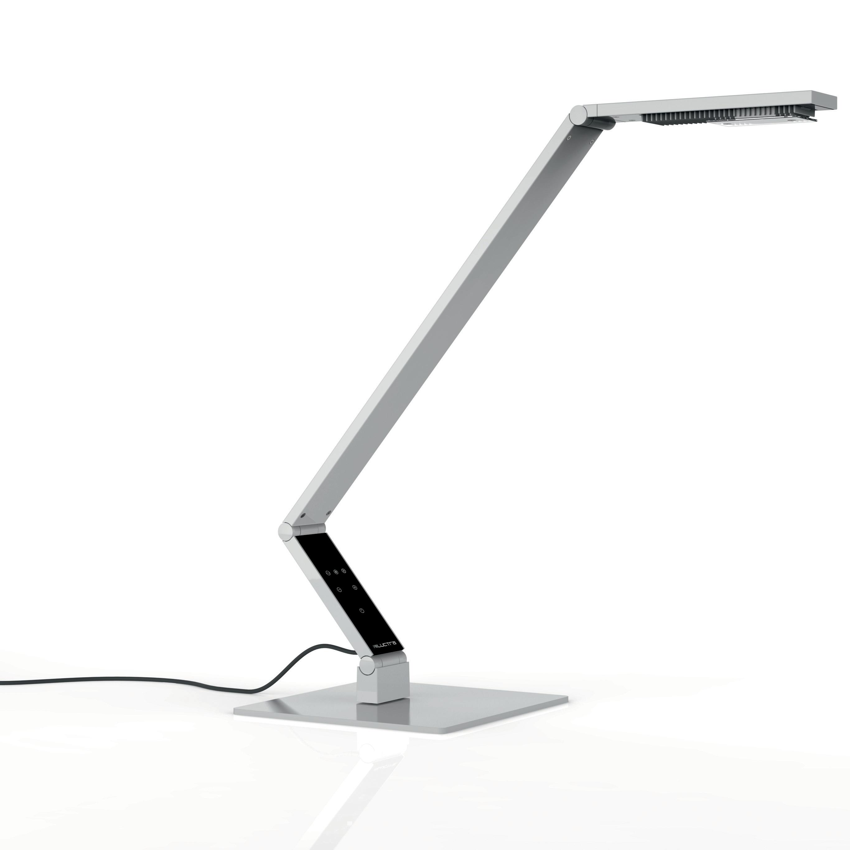 Linear bordslampa vit
