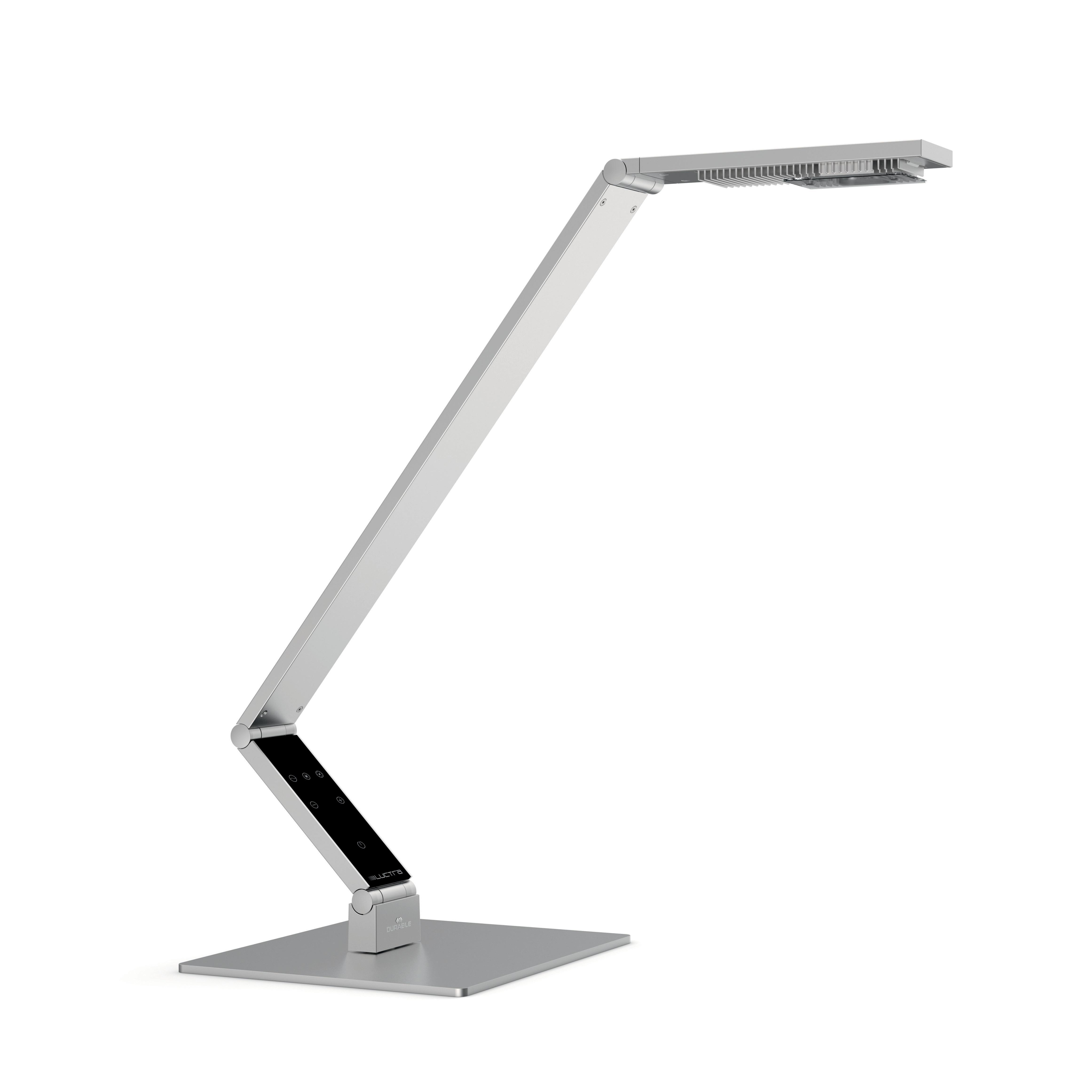 Linear bordslampa aluminium
