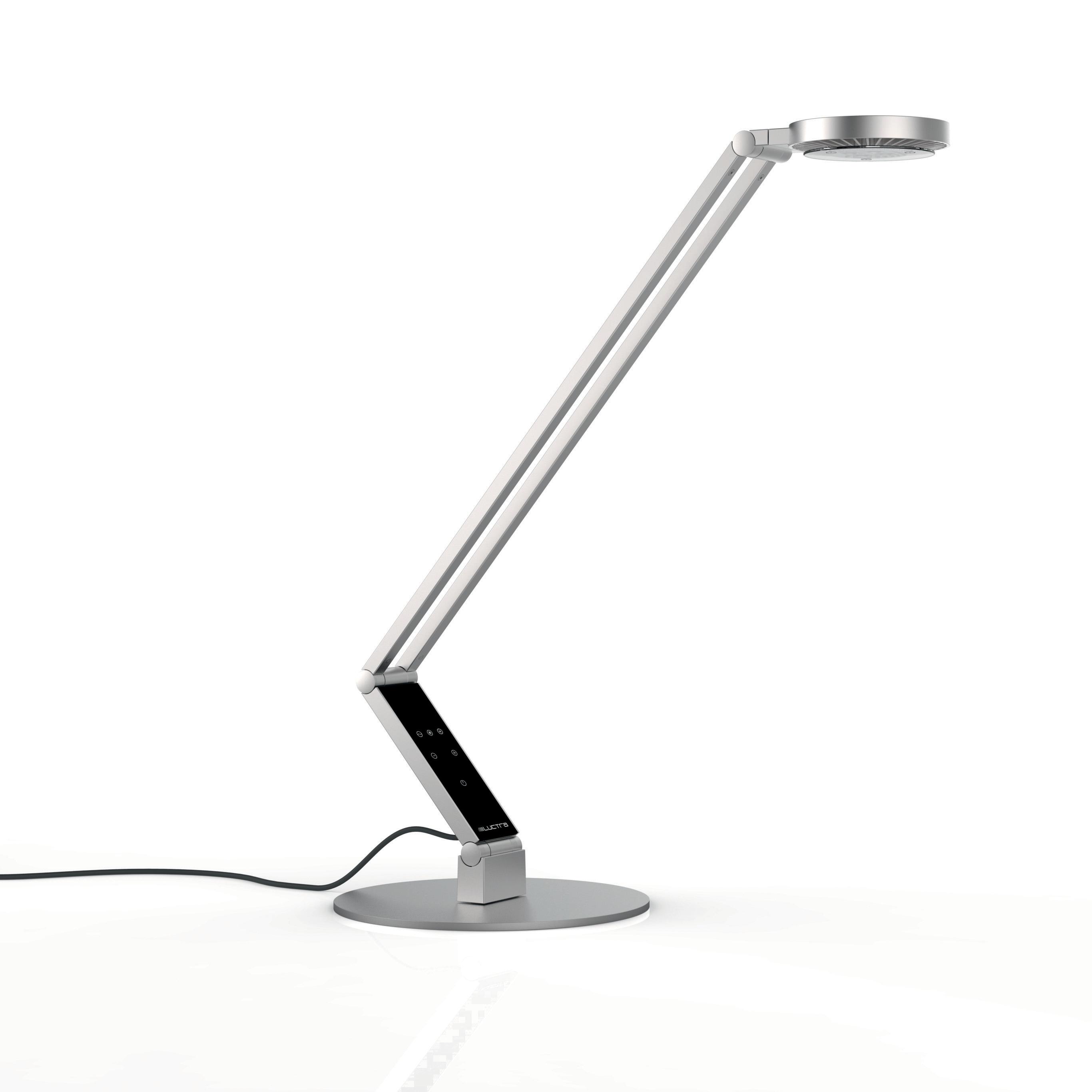 Radial bordslampa aluminium