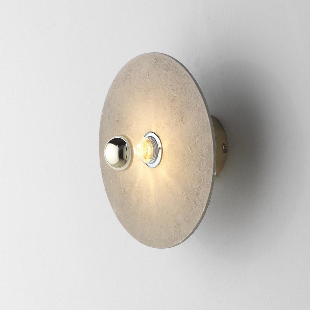 Kassy Ø20 vägglampa keramik/guld