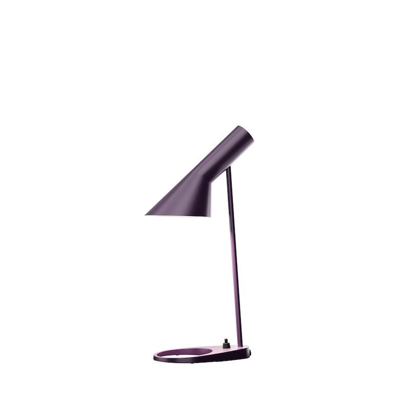 AJ mini bordslampa aubergine
