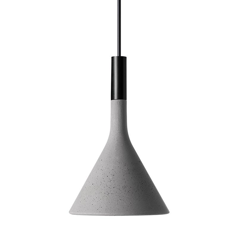 Aplomb mini taklampa grå betong