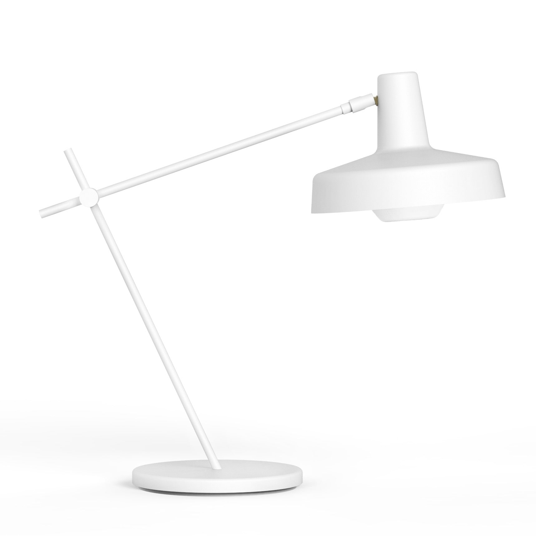 Arigato bordslampa kort svart