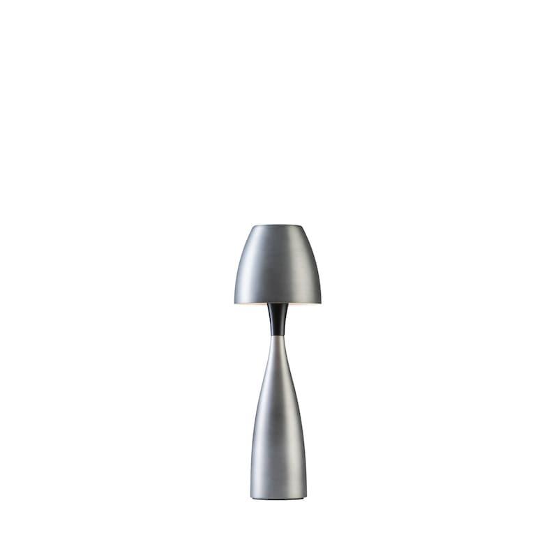 Anemon liten bordslampa oxidgrå