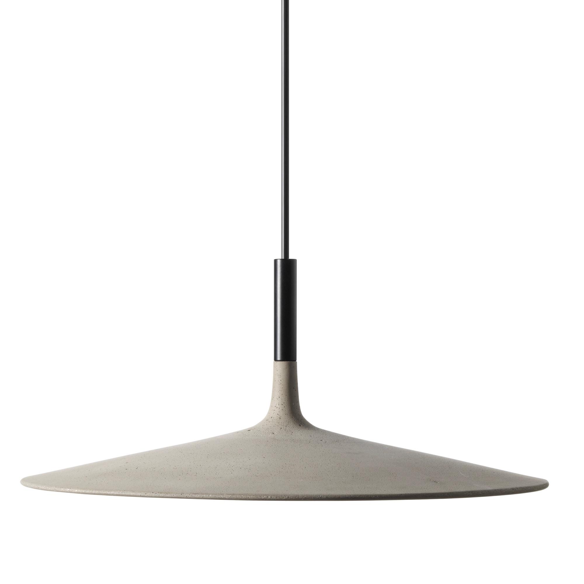 Aplomb large taklampa grå betong dimbar