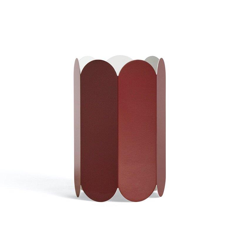 Arcs lampskärm auburn röd