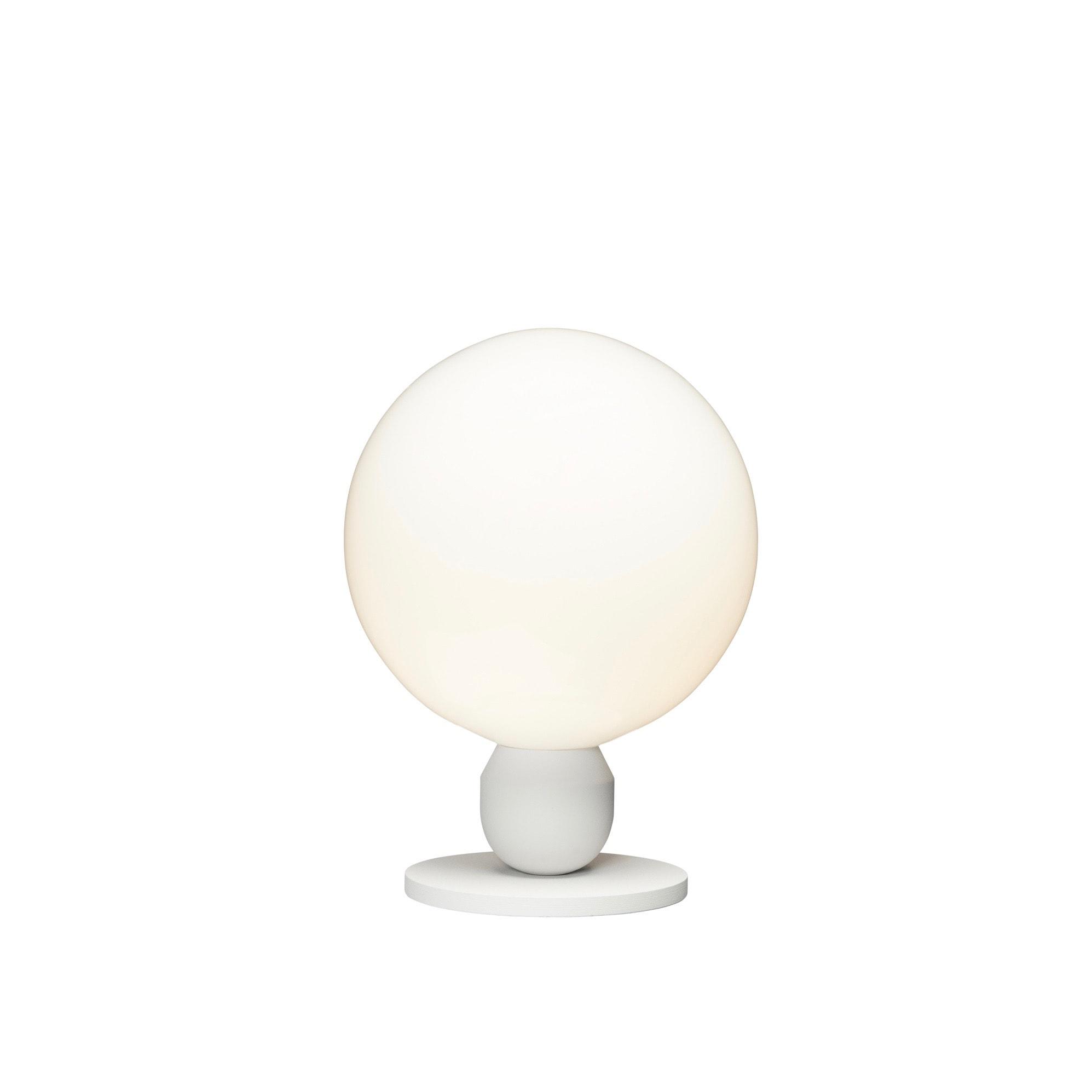 Atom Ø20 bordslampa pärlvit
