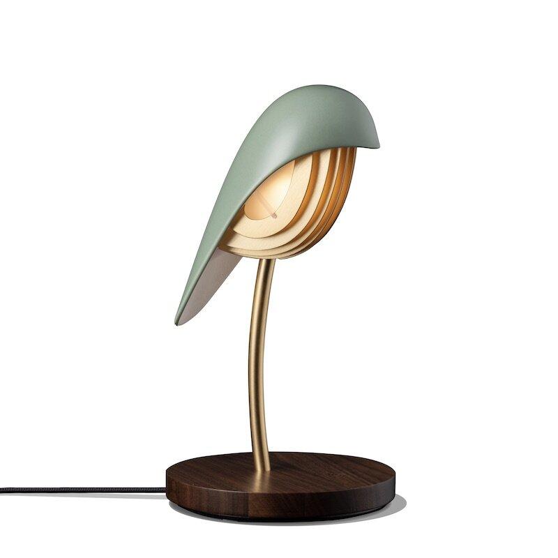 Bird bordslampa oliv green